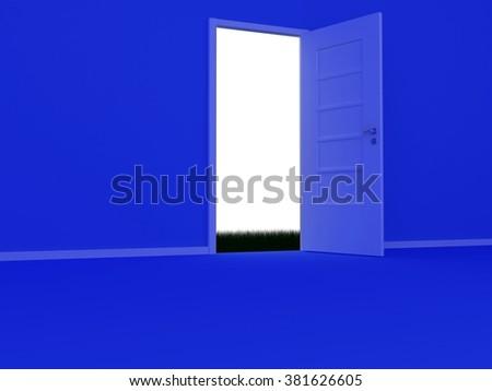 The Open Door - stock photo