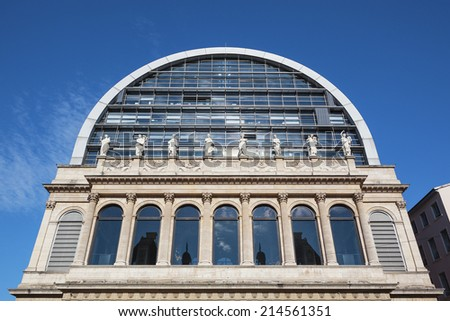 The opera house in Lyon, France - stock photo