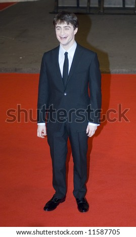 The Orange British Academy Film Awards 2008 held at the Royal Opera House on February 10, 2008 in London, England. Daniel Radcliffe - stock photo