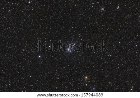 The Owl Star Cluster - stock photo