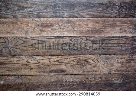 The painted wooden boards as a background - stock photo