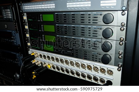 The panel of audio player