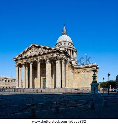 The Pantheon, tomb of French most prominent cultural and scientific figures
