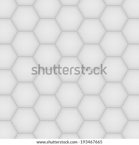 the paper cut of soccer, football texture is black and white hexagon background for illustration wallpaper