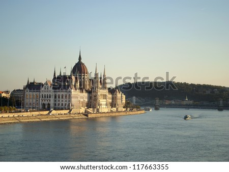 The Parliament of Budapest (Hungary)