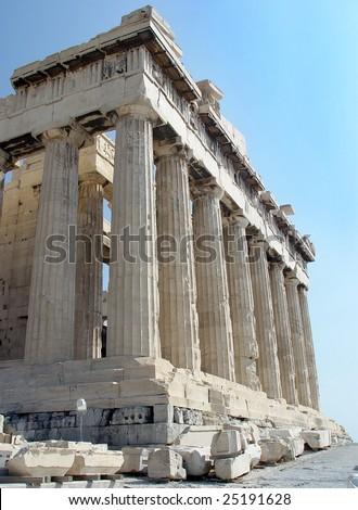 The Parthenon, Athens, Greece - stock photo