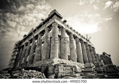 The Parthenon, Parthenon Athens, Greece - stock photo