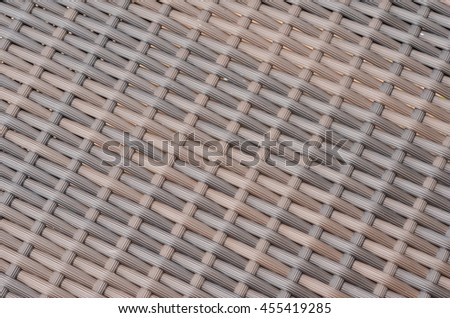 The pattern of the weave - stock photo