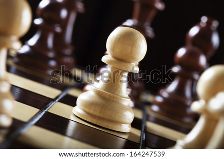 the pawn - stock photo