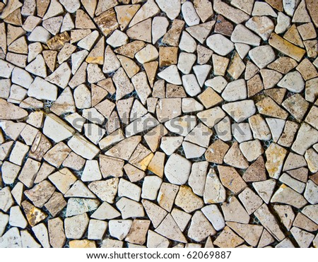 The Pebble texture - stock photo