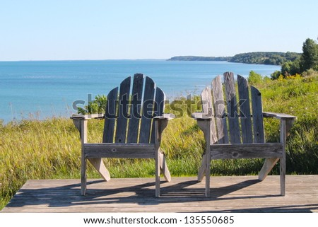 The perfect spot - stock photo