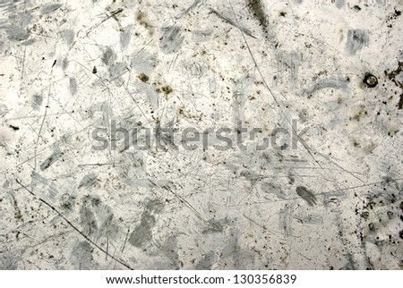 the Photo of the texture of rusty metal - stock photo