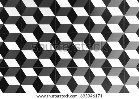 Photograph Image Modern Ceramic Floor Tile Stock Photo Royalty Free