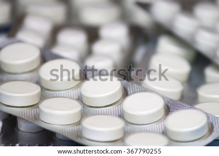 the pills in the package