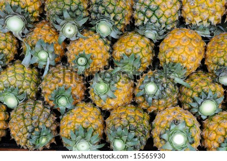 The pineapple pile