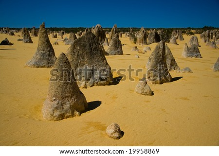 The Pinnacles - stock photo