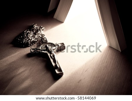 The Power of Christ - stock photo
