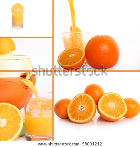 the pressed out juice of oranges is in glass glass