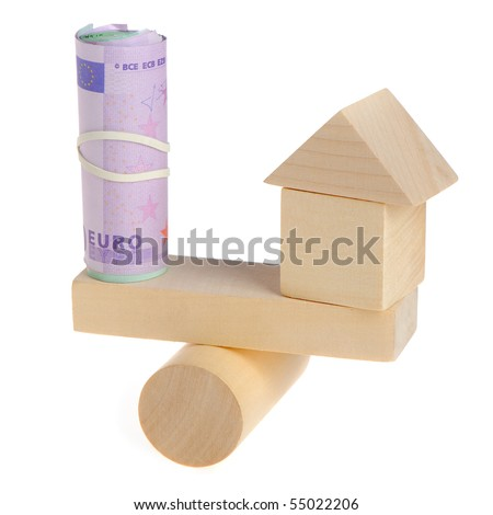 The price of the real estate - stock photo