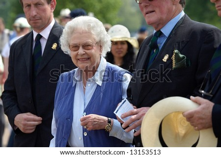 The queen of United Kingdom Elizabeth II - stock photo