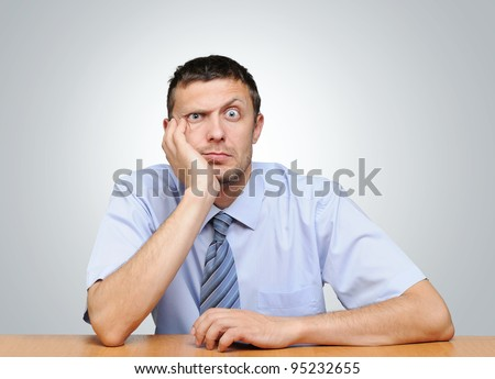 The question of what to do? Financial crisis concept - stock photo