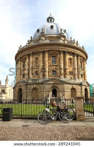 The Radcliffe Camera in Oxford, UK - stock photo