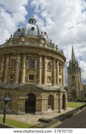 The Radcliffe Camera, Oxford, UK - stock photo