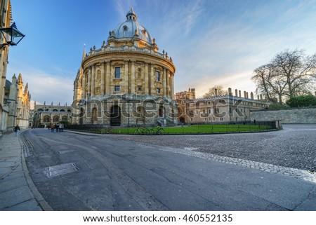 The Radcliffe Camera, Oxford, United Kingdom - stock photo
