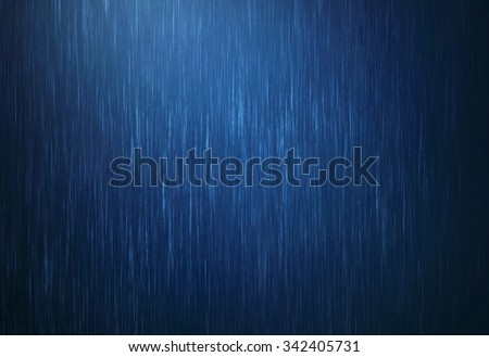 the rain water drop falling in rainy season with dark blue color as abstract  background - stock photo
