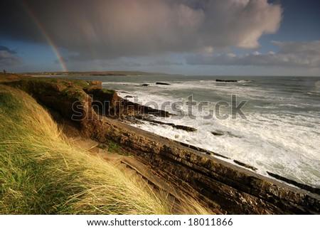 The rainbow - stock photo