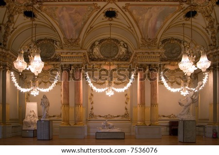 The Reception Room - stock photo