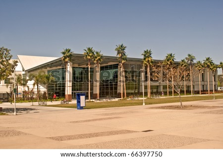 The Recreation Center at California State University at Fullerton - stock photo
