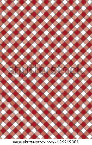 The red checkered texture
