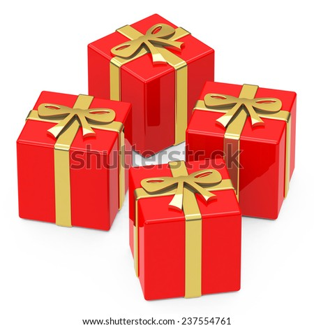 the red gifts