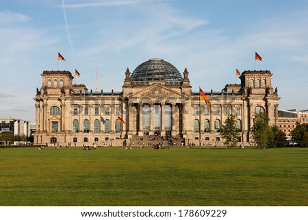 The Reichstag, Berlin - Germany