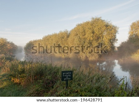 The River Avon at Stratford upon Avon. - stock photo