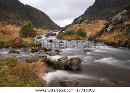 The river , Ireland - stock photo