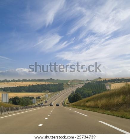 The road ahead - stock photo
