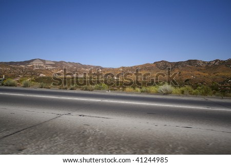 The Road to Vegas - stock photo
