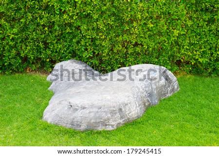 The Rock the Garden - stock photo