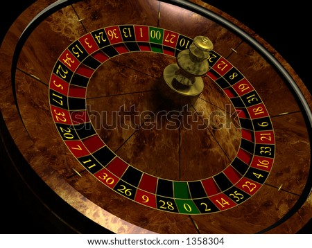 The Roulette Wheel - stock photo