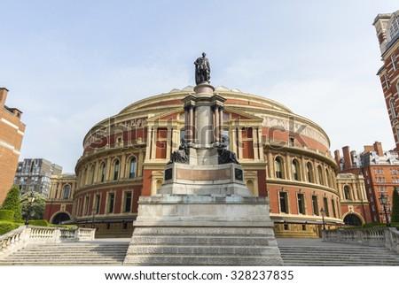 The Royal Albert Hall in London  - stock photo