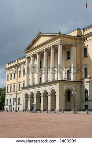 The Royal Norwegian Castle, Oslo - stock photo