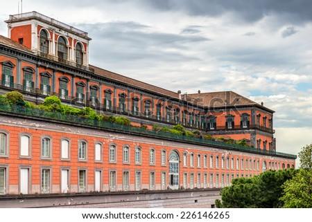The Royal Palace of Naples, Italy - stock photo