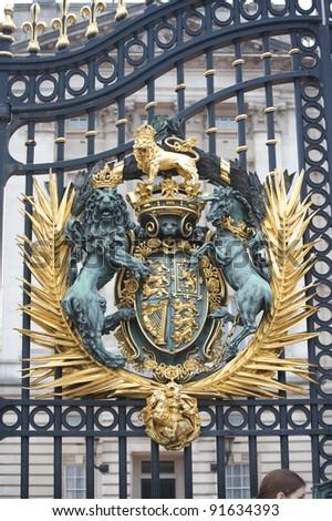 the royal seal - stock photo