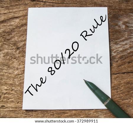 80 20 rule essay writer