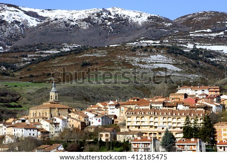 the samll village of Torrecilla de Cameros in La Rioja (Spain)