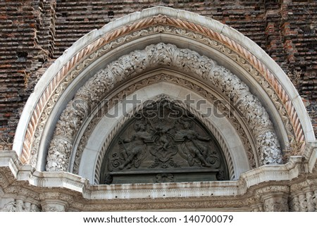 The San Giovanni e Paolo church in Venice in Italy