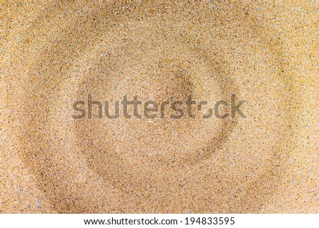 The sand by the beach - stock photo