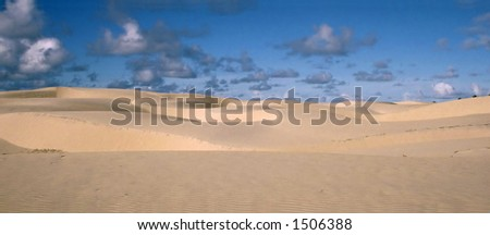 The Sand of Brazil - stock photo